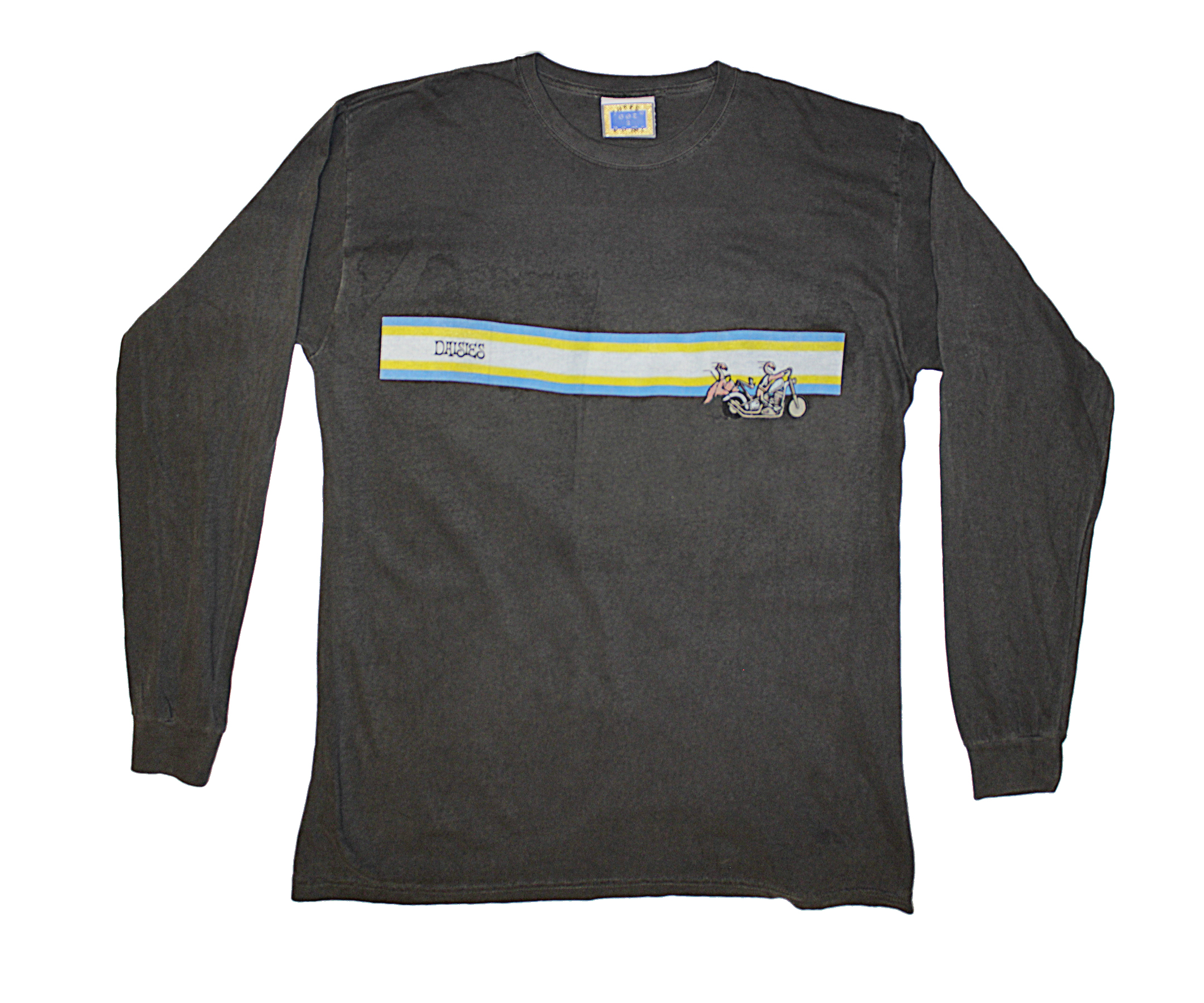 daisies free ride long sleeve t shirt