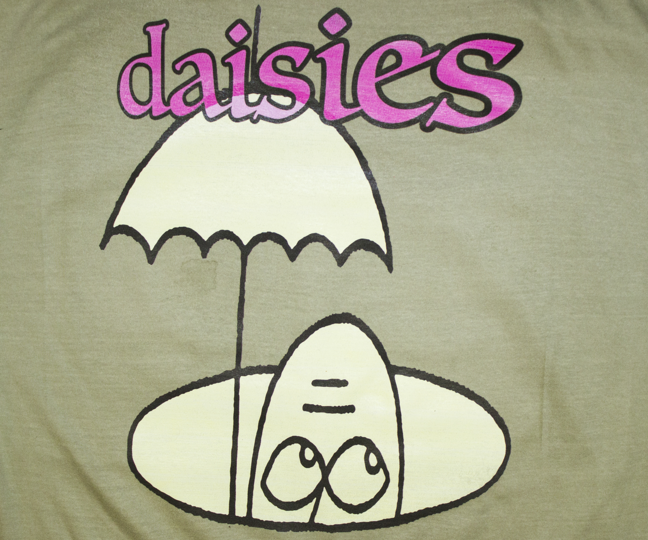 daisies in the studio with dj rap class underground waiting t shirt